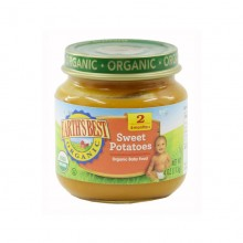 Earth's Best Organic Baby Food Sweet Potatoes Fruit & Grain 4oz(6mth+)