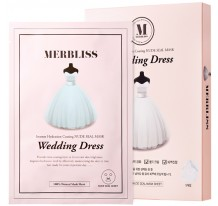 Wedding Dress Intense Hydration Coating Nude Seal Mask (Pack of 10)