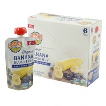 Earth's Best Organic Banana Blueberry Puree 6mth+ (Pack of 6)