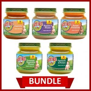Earth's Best Organic Puree Mix Jar (Pack of 5)