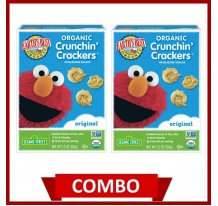 Earth's Best Crunchin' Crackers Original (Combo of 2)
