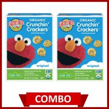 Earth's Best Crunchin' Crackers Original (Combo of 2)