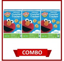 Earth's Best Crunchin' Crackers Original (Combo of 3)