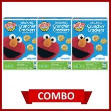 Earth's Best Crunchin' Crackers Original (Combo of 3)